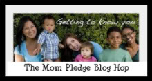 The Mom Pledge Blog Hop