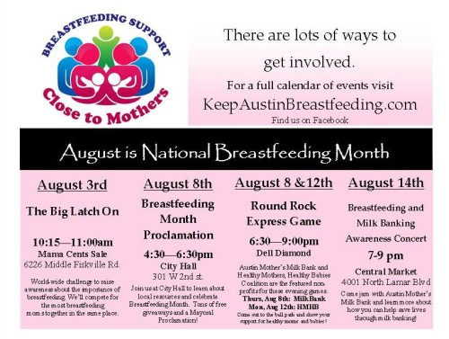 HMHB BF Month Flyer