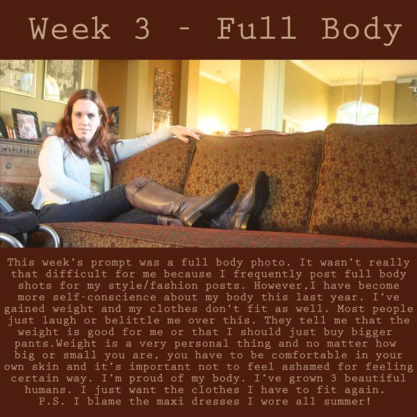 Week 3/52 self portrait challenge