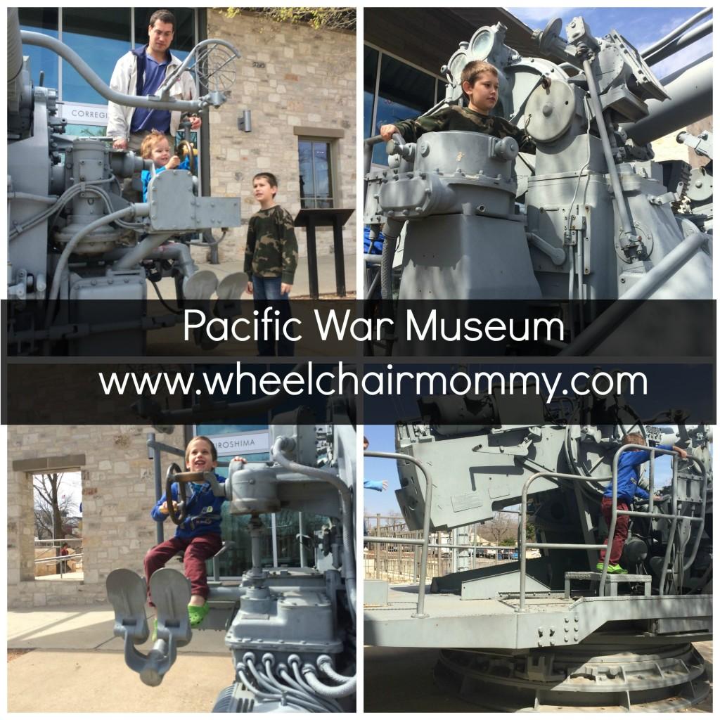 pacific war museum artillery