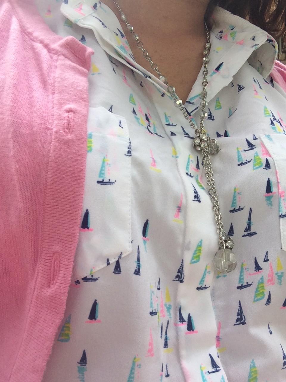 What I wore: Stylish Gimp