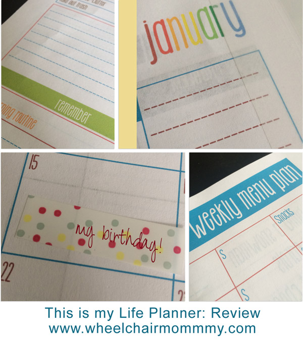my life planner review