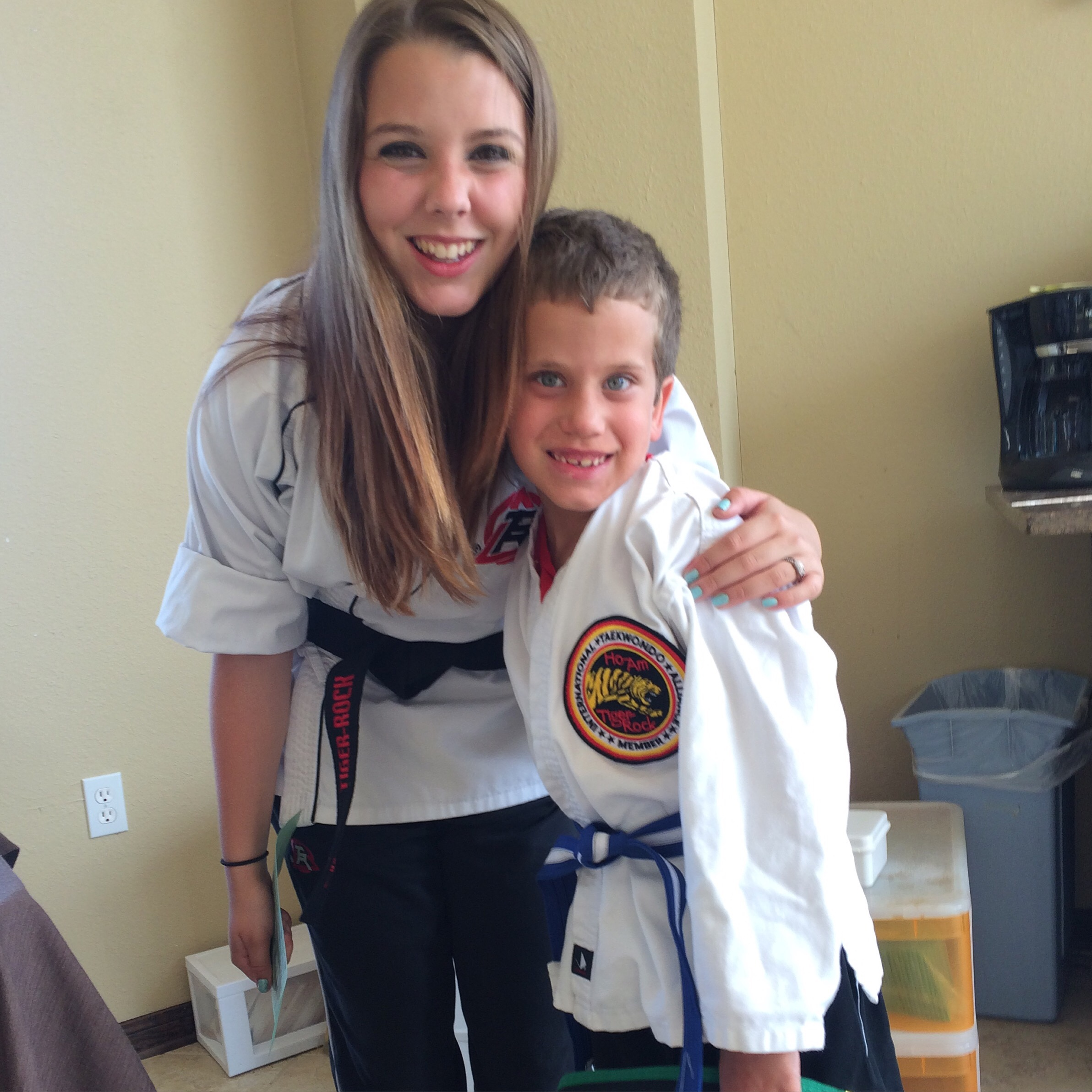 Tae Kwon Do: Blue belt and 2nd Degree Black Belt