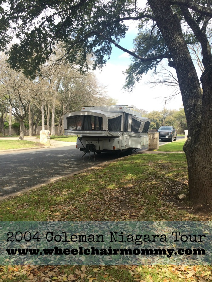 pop-up camper tour
