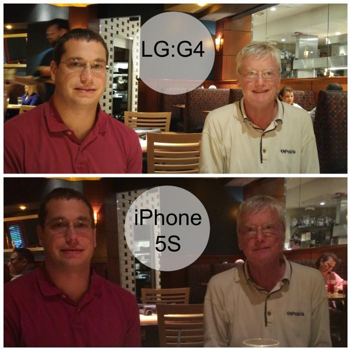 LGG4VSiphone5S