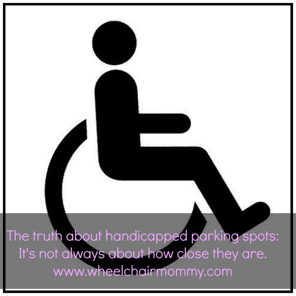 the truth about handicapped parking