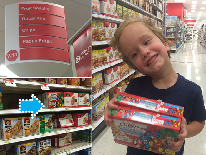 target marvel chewy granola bars