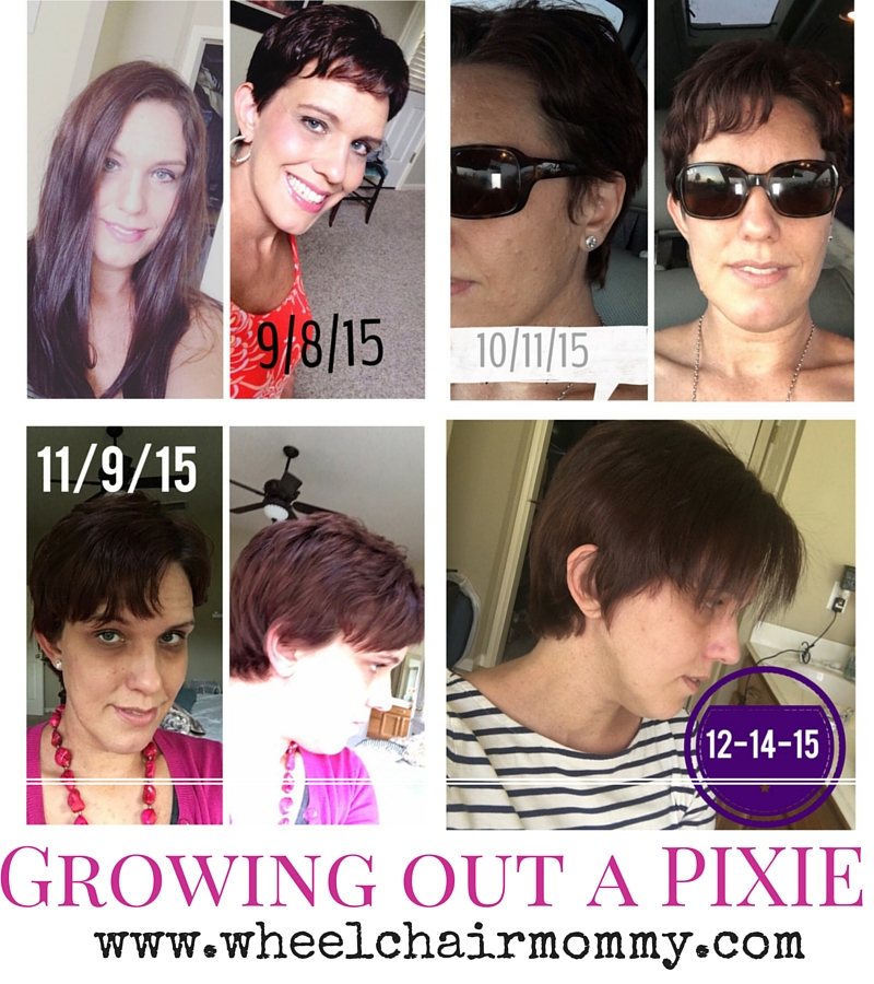 Growing Out My Pixie The Wheelchair Mommy