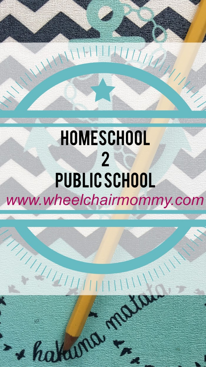 homeschool to public school