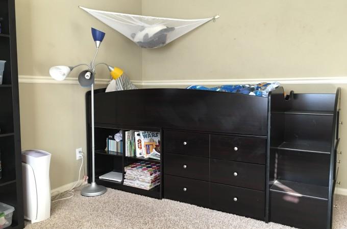 Progress on Lucas's room